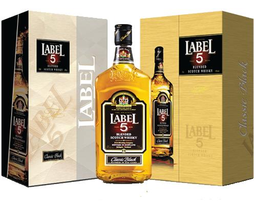 rượu whisky label 5