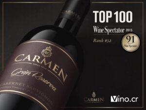 rượu vang chile Carmen gran reserva
