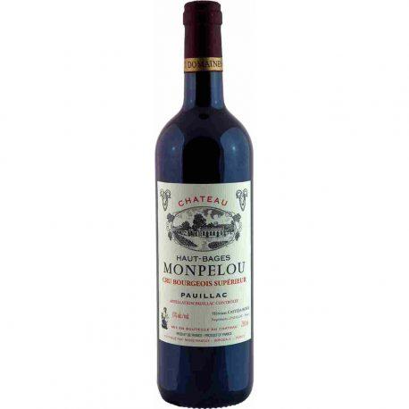 rượu vang pháp Chateau Haut Bages Monpelou