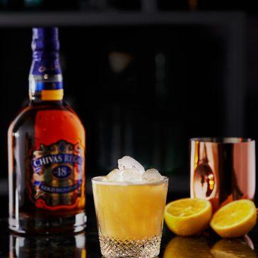 Rượu Chivas 18 gold và Cocktails SOUR